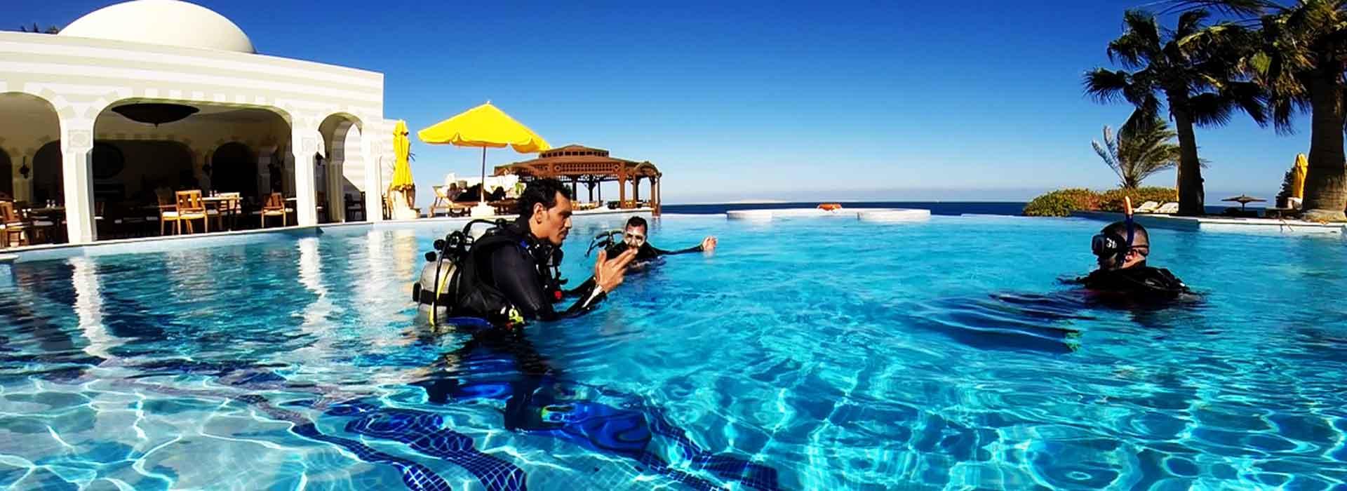 dive pro- training